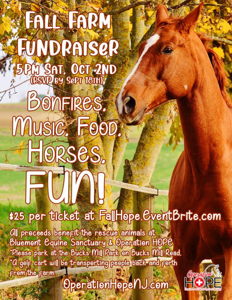 Operation Hope's Fall Fundraiser